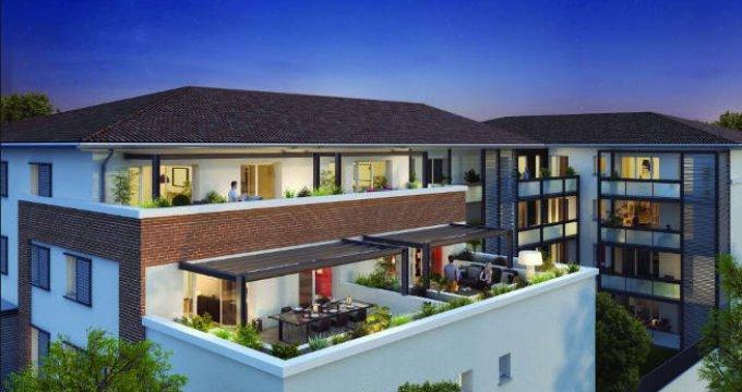 Achat / Vente immobilier neuf Castanet-Tolosan à 300 mètres du centre bourg (31320) - Réf. 3286