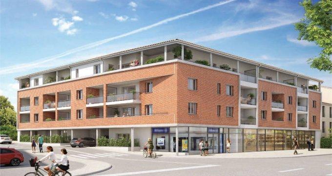 Achat / Vente immobilier neuf Castanet-Tolosan centre proche Mairie (31320) - Réf. 5608