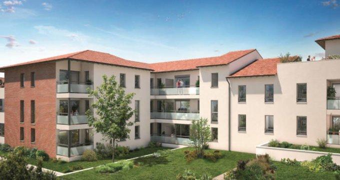 Achat / Vente immobilier neuf Castanet-Tolosan - La Ritournelle proche mairie (31320) - Réf. 3822