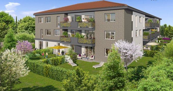 Achat / Vente immobilier neuf Castanet-Tolosan proche métro B (31000) - Réf. 4134
