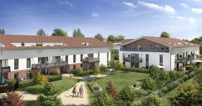 Achat / Vente immobilier neuf Castanet-Tolosan quartier Salettes et Manset (31320) - Réf. 3435