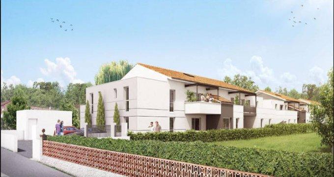Achat / Vente immobilier neuf Cugnaux proche centre-ville (31270) - Réf. 3585