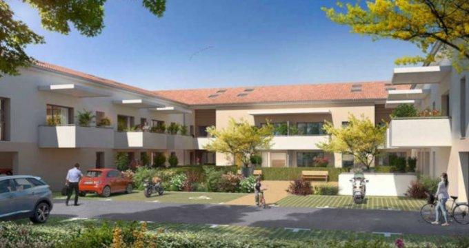Achat / Vente immobilier neuf Fonbeauzard proche école (31140) - Réf. 3340