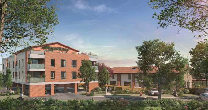 Achat / Vente immobilier neuf Labarthe-sur-Lèze au pied du bus 316 (31860) - Réf. 6105