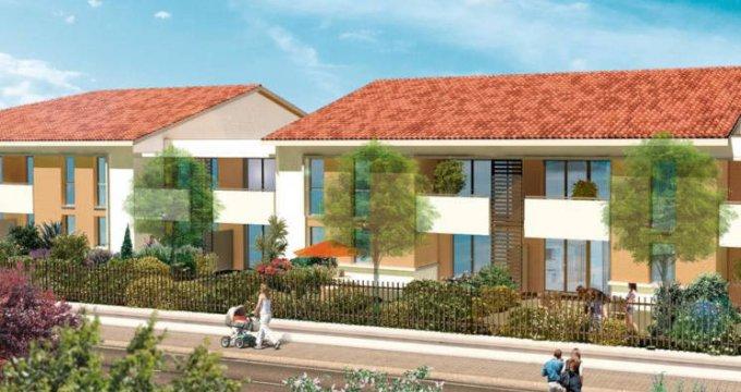 Achat / Vente immobilier neuf Launaguet proche commerces (31140) - Réf. 3176