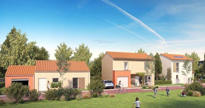 Achat / Vente immobilier neuf Mondonville cœur de ville (31700) - Réf. 3137