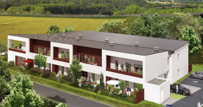 Achat / Vente immobilier neuf Roques proche Garonne (31120) - Réf. 4566