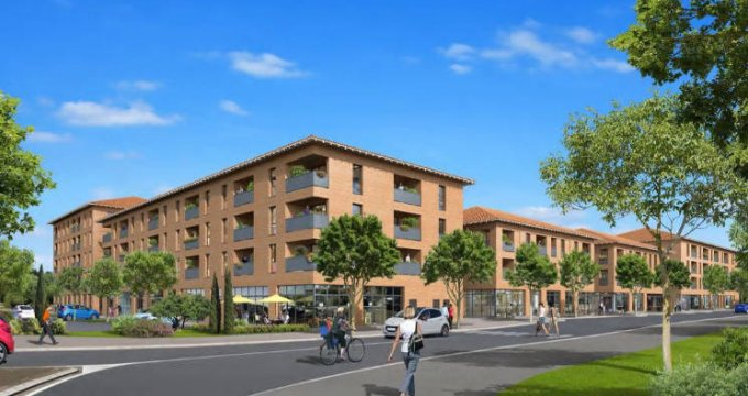 Achat / Vente immobilier neuf Saint-Jory proche centre-ville et gare (31790) - Réf. 4786