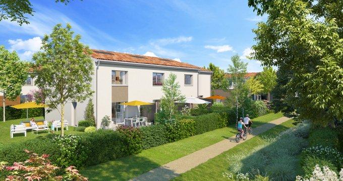 Achat / Vente immobilier neuf Saint-Jory proche lac (31790) - Réf. 3113
