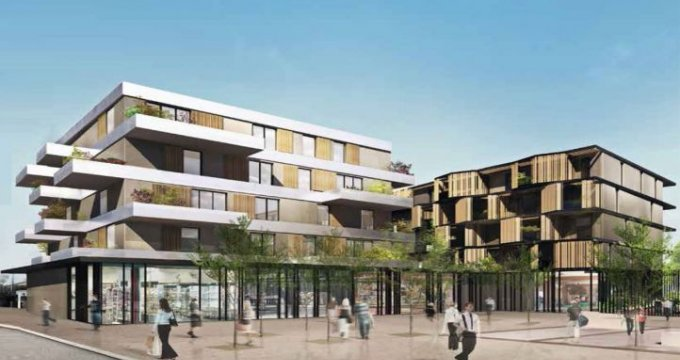 Achat / Vente immobilier neuf Toulouse place Micoulaud (31000) - Réf. 49