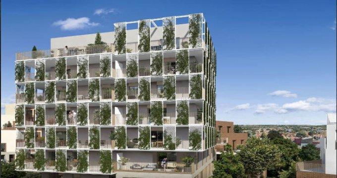 Achat / Vente immobilier neuf Toulouse quartier Roseraie proche métro (31000) - Réf. 4612