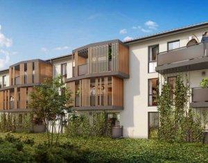 Achat / Vente immobilier neuf Aucamville au cœur du centre (31140) - Réf. 3828