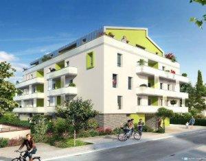 Achat / Vente immobilier neuf Blagnac à 800 mètres du Tramway T1 (31700) - Réf. 4593