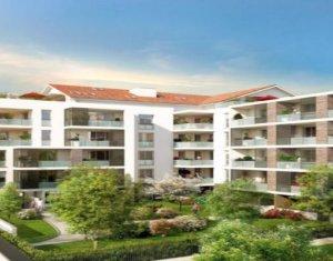 Achat / Vente immobilier neuf Castanet-Tolosan proche centre-ville (31320) - Réf. 3125