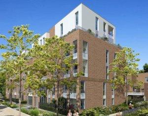 Achat / Vente immobilier neuf Toulouse proche RER A et A15 au cœur de l'ecoquartier Guillaumet (31000) - Réf. 4258
