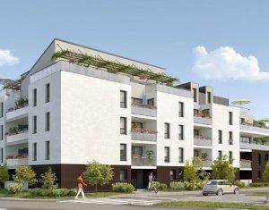 Achat / Vente immobilier neuf Toulouse quartier de la Roseraie (31000) - Réf. 3440