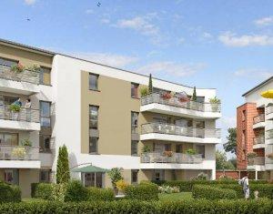 Achat / Vente immobilier neuf Toulouse quartier Fontaine-Lestang (31000) - Réf. 3706