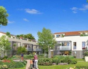 Achat / Vente immobilier neuf Tournefeuille, proche golf de la Ramée (31170) - Réf. 3116