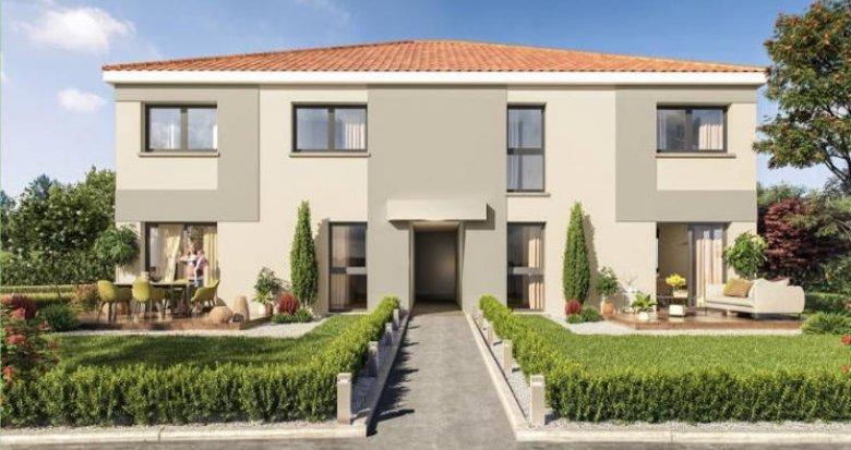 Achat / Vente immobilier neuf Auzeville-Tolosane au pied du bus (31320) - Réf. 5143
