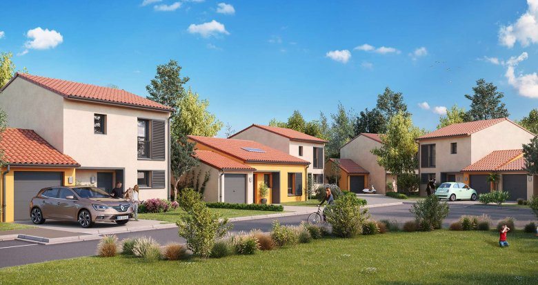 Achat / Vente immobilier neuf Ayguesvives aux portes de Toulouse (31450) - Réf. 3136