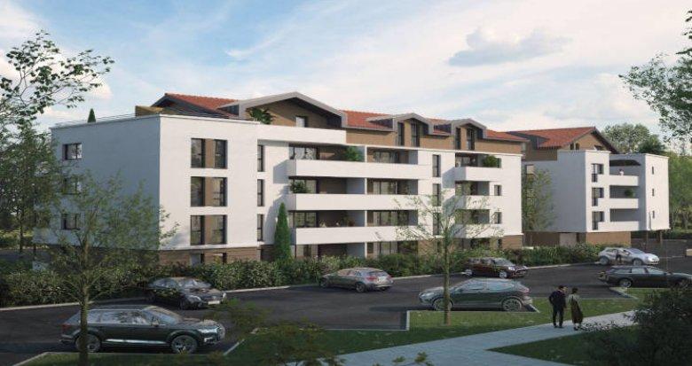 Achat / Vente immobilier neuf Blagnac à 500 m du tramway T1 (31700) - Réf. 5979