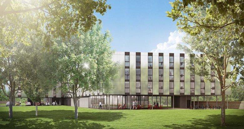 Achat / Vente immobilier neuf Blagnac résidence à 5 min de l'aéroport de Toulouse-Blagnac (31700) - Réf. 5960