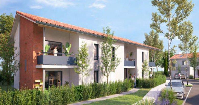 Achat / Vente immobilier neuf Brax proche gare et commodités (31490) - Réf. 4108