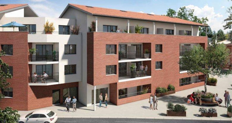Achat / Vente immobilier neuf Castanet-Tolosan à deux pas du Parc de la Mairie (31320) - Réf. 5741