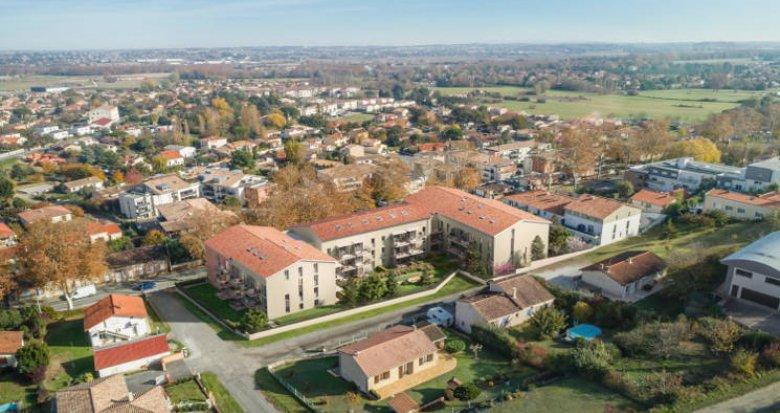Achat / Vente immobilier neuf Castanet-Tolosan cœur quartier Plaine-Haute-Coteaux (31320) - Réf. 3544