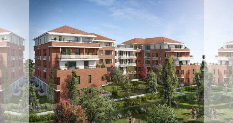 Achat / Vente immobilier neuf Castanet-Tolosan face au Parc de la Mairie (31320) - Réf. 5868