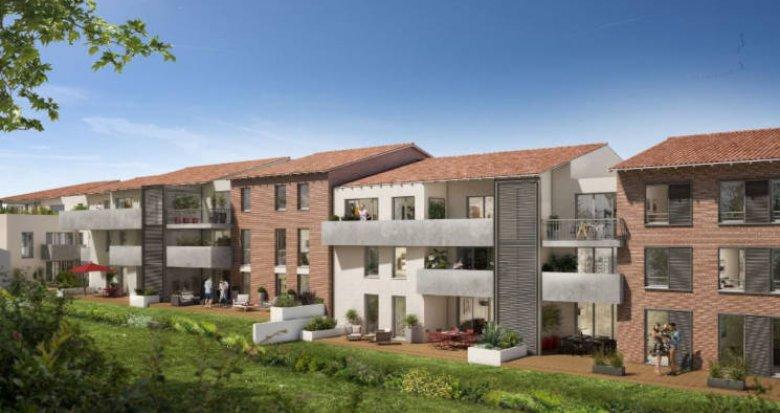 Achat / Vente immobilier neuf Castanet-Tolosan - La Ritournelle (31320) - Réf. 3538