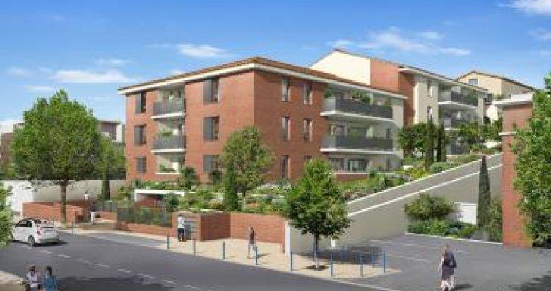 Achat / Vente immobilier neuf Castanet-Tolosan proche de l'Ecluse de Vic (31320) - Réf. 6165