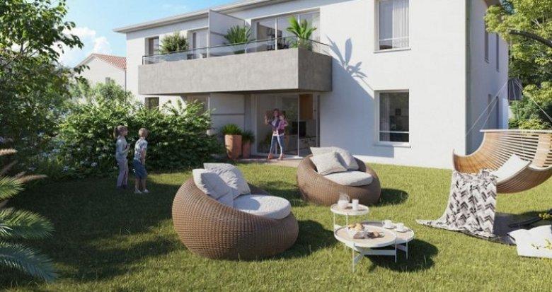 Achat / Vente immobilier neuf Colomiers quartier du Garroussal (31770) - Réf. 5649