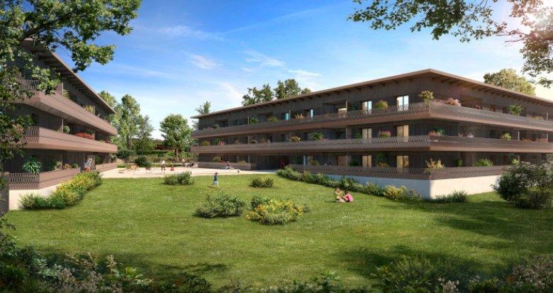 Achat / Vente immobilier neuf Cornebarrieu écoquartier de Monges Croix du Sud (31700) - Réf. 5772