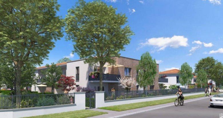 Achat / Vente immobilier neuf Cugnaux au cœur du quartier résidentiel Michel (31270) - Réf. 4151