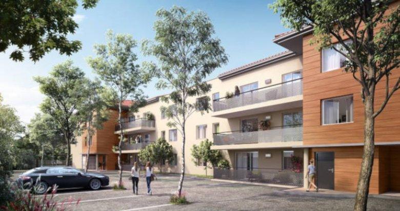 Achat / Vente immobilier neuf Cugnaux proche centre-ville (31270) - Réf. 3543