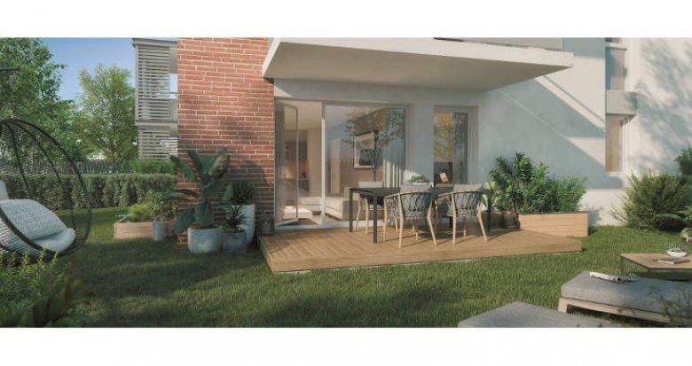 Achat / Vente immobilier neuf Eaunes à proximité du cœur de ville (31600) - Réf. 5775