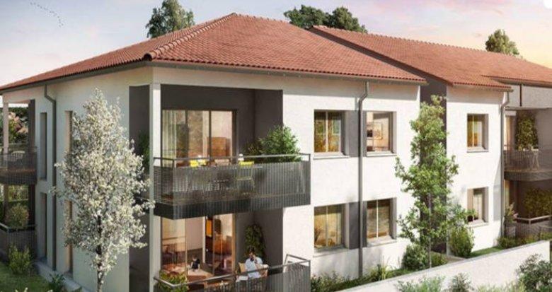 Achat / Vente immobilier neuf Fonbeauzard proche école (31140) - Réf. 3290