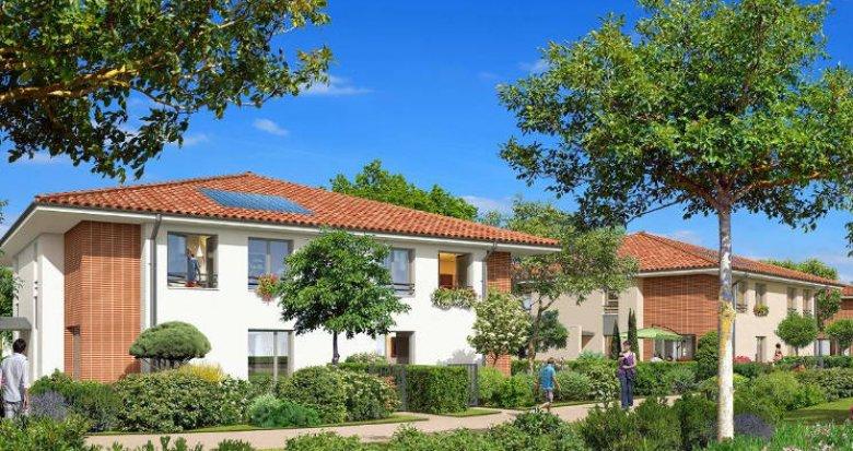 Achat / Vente immobilier neuf Gratentour proche centre (31150) - Réf. 3107