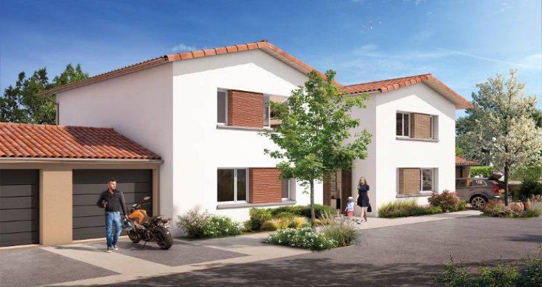 Achat / Vente immobilier neuf Gratentour proche du centre-ville (31150) - Réf. 5610