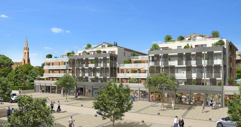 Achat / Vente immobilier neuf L'Union proche centre-ville (31240) - Réf. 3283