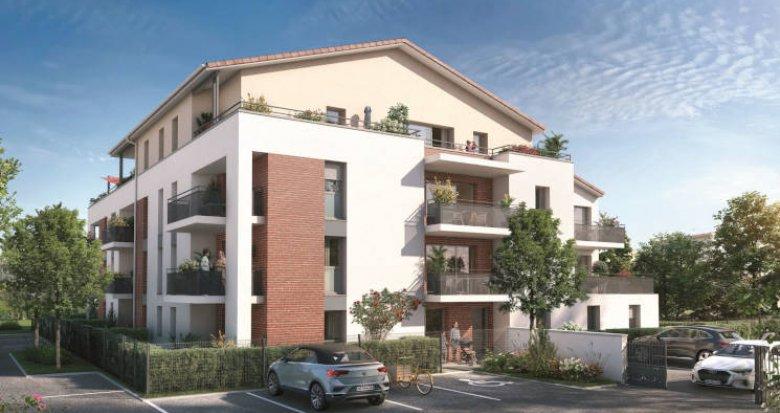 Achat / Vente immobilier neuf Labarthe-sur-Lèze à 15 min de Basso Combo (31860) - Réf. 5954