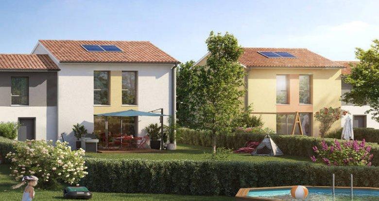 Achat / Vente immobilier neuf Launaguet à 5 min de Toulouse (31140) - Réf. 5650