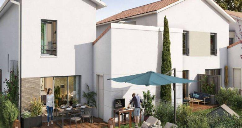 Achat / Vente immobilier neuf Lespinasse proche des berges de la Garonne (31150) - Réf. 4875