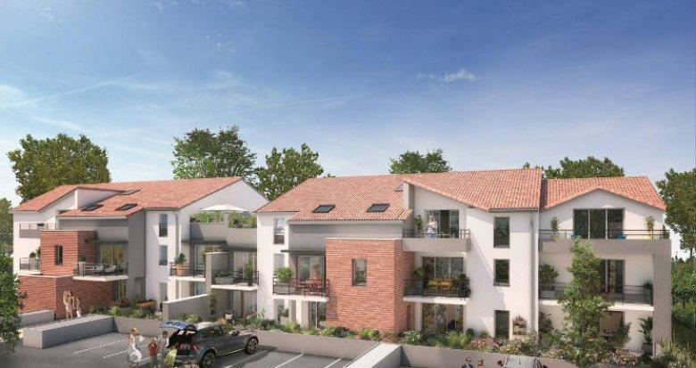Achat / Vente immobilier neuf Mondonville proche bassins d'emplois (31700) - Réf. 4454