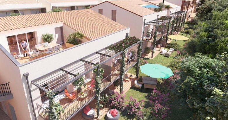 Achat / Vente immobilier neuf Montrabé à 3 minutes de la gare (31850) - Réf. 5607
