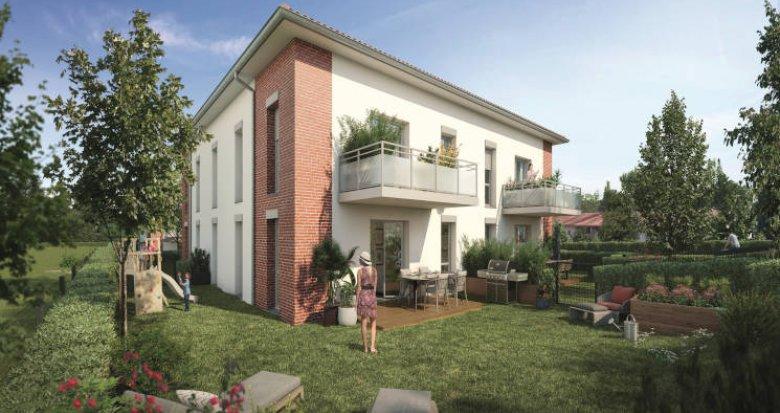 Achat / Vente immobilier neuf Pechbonnieu à moins de 5 min du centre (31140) - Réf. 5790