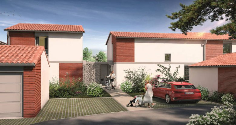 Achat / Vente immobilier neuf Pins-Justaret centre-bourg (31860) - Réf. 5853