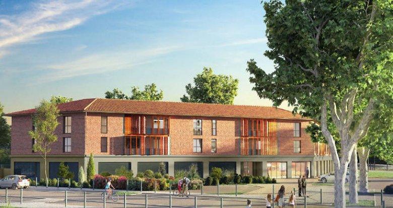 Achat / Vente immobilier neuf Pinsaguel en plein centre (31120) - Réf. 4766