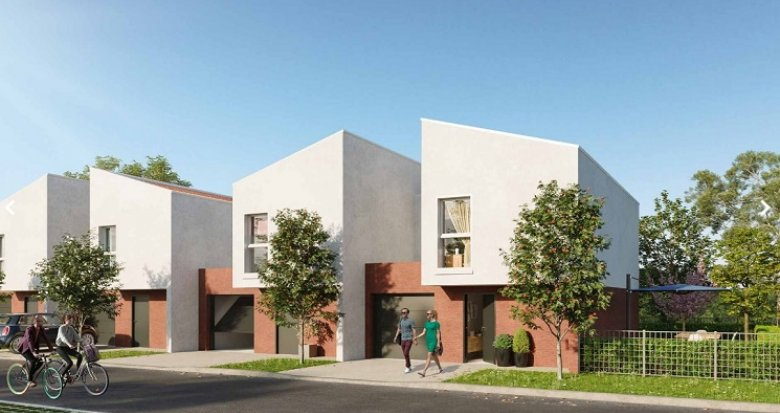 Achat / Vente immobilier neuf Roques proche centre-bourg (31120) - Réf. 5819